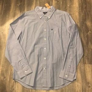 NWT Mens American Eagle dress shirt size XL